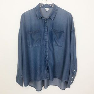 A New Day Button Down Tunic